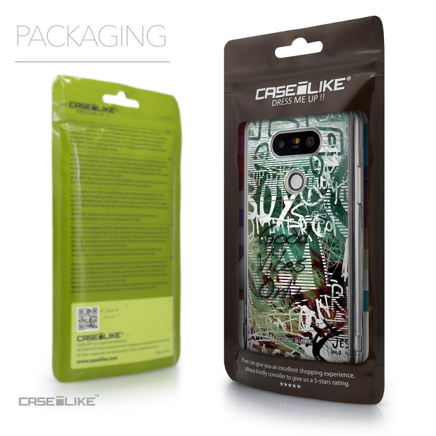 Packaging - CASEiLIKE LG G5 back cover Graffiti 2728