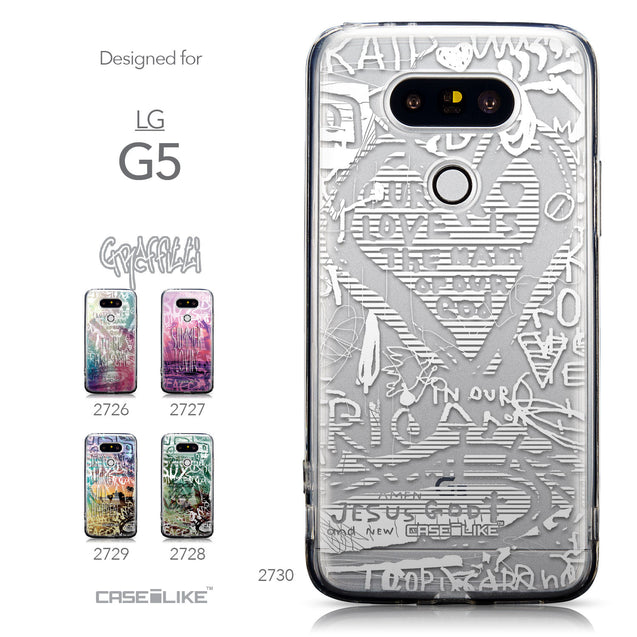 Collection - CASEiLIKE LG G5 back cover Graffiti 2730