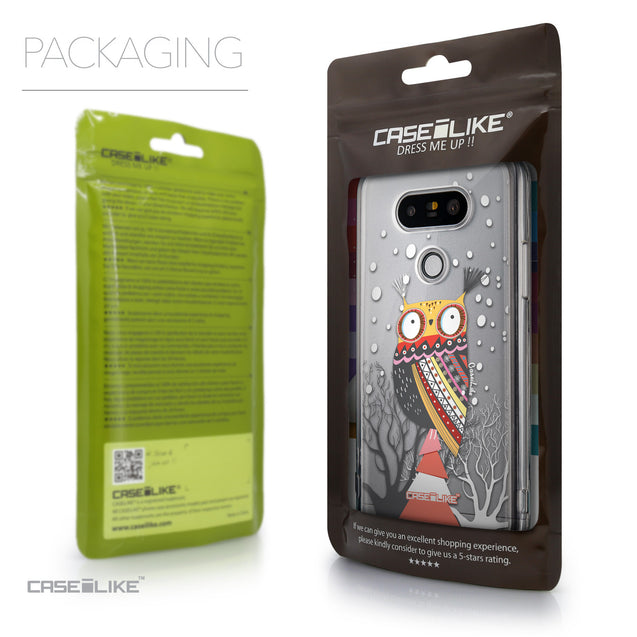 Packaging - CASEiLIKE LG G5 back cover Owl Graphic Design 3317