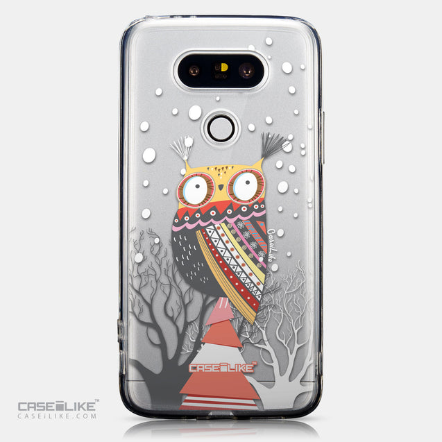 CASEiLIKE LG G5 back cover Owl Graphic Design 3317