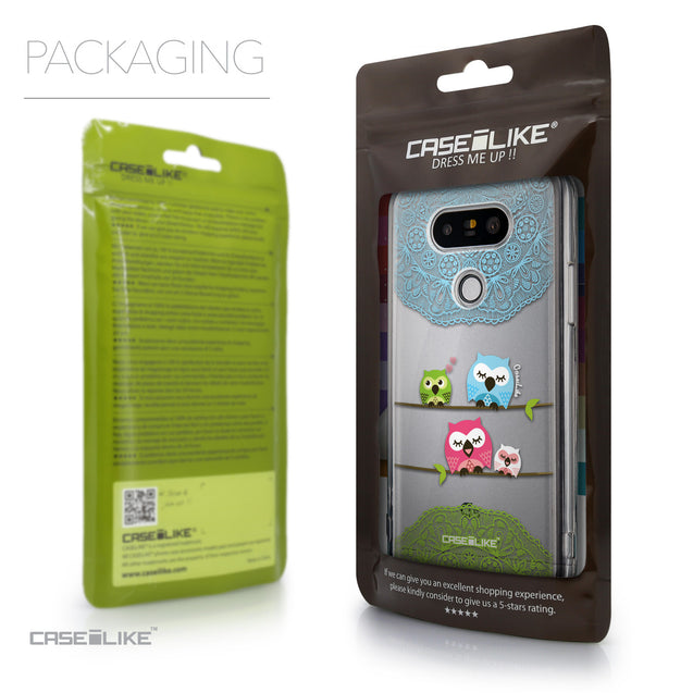 Packaging - CASEiLIKE LG G5 back cover Owl Graphic Design 3318
