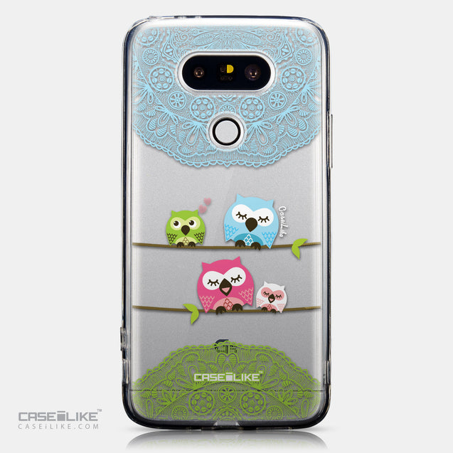 CASEiLIKE LG G5 back cover Owl Graphic Design 3318