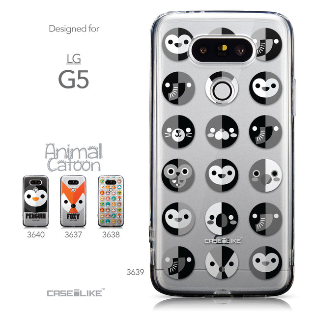 Collection - CASEiLIKE LG G5 back cover Animal Cartoon 3639