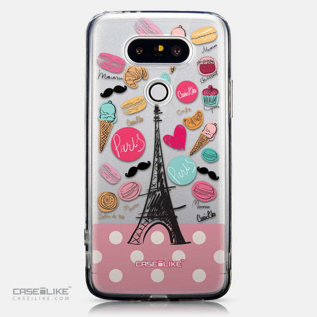 CASEiLIKE LG G5 back cover Paris Holiday 3904