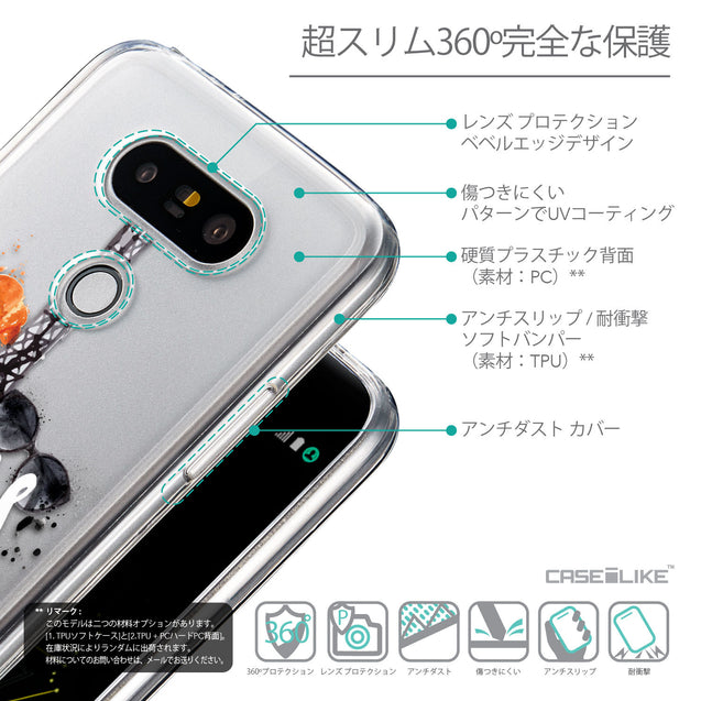 Details in Japanese - CASEiLIKE LG G5 back cover Paris Holiday 3908