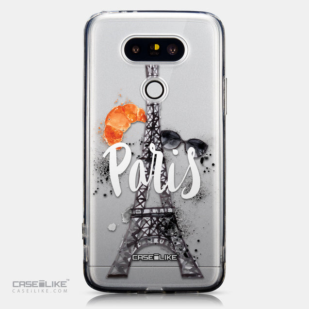 CASEiLIKE LG G5 back cover Paris Holiday 3908