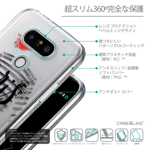 Details in Japanese - CASEiLIKE LG G5 back cover Paris Holiday 3909