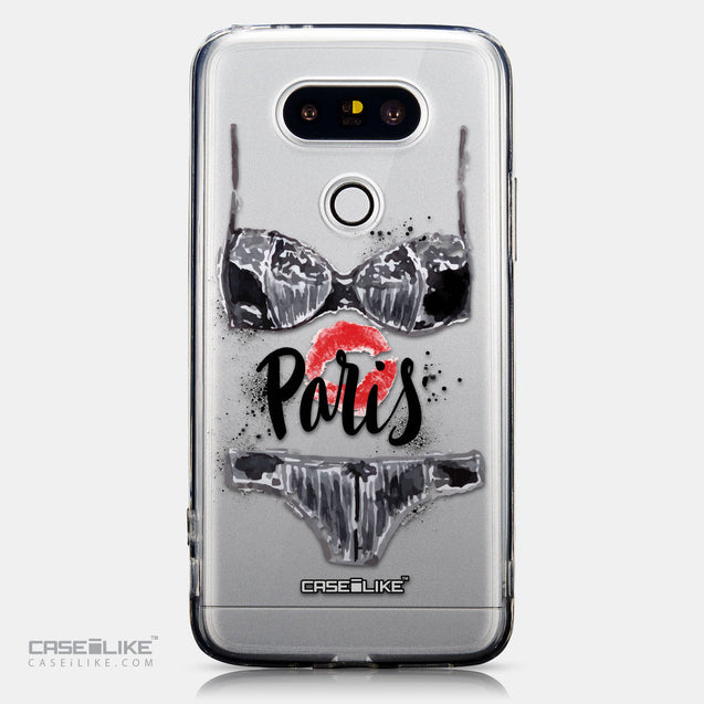 CASEiLIKE LG G5 back cover Paris Holiday 3910