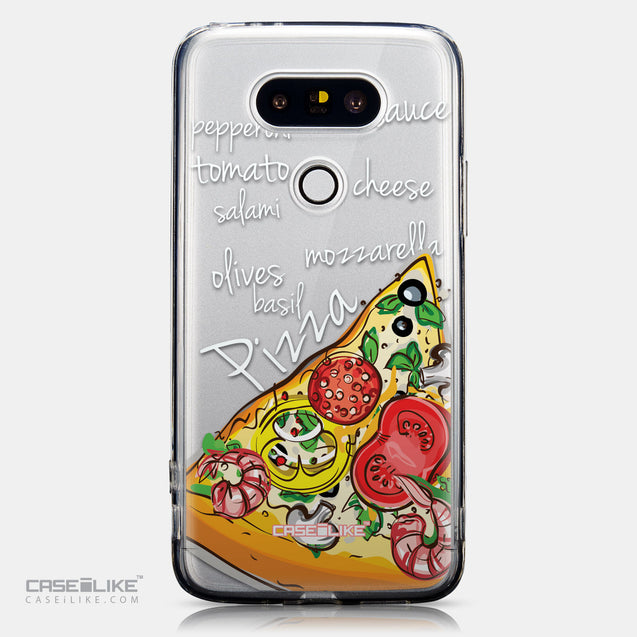 CASEiLIKE LG G5 back cover Pizza 4822