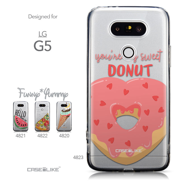 Collection - CASEiLIKE LG G5 back cover Dounuts 4823