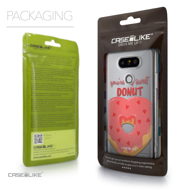 Packaging - CASEiLIKE LG G5 back cover Dounuts 4823