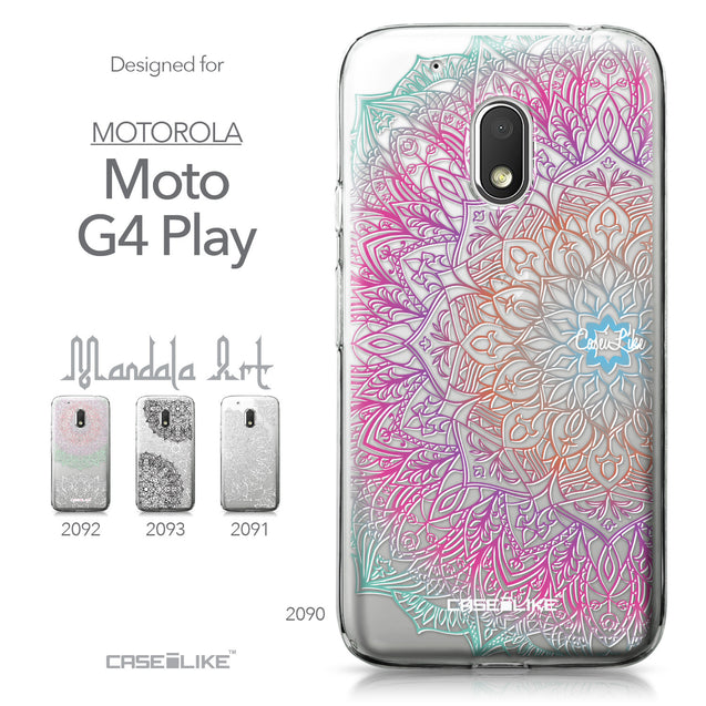 Motorola Moto G4 Play case Mandala Art 2090 Collection | CASEiLIKE.com