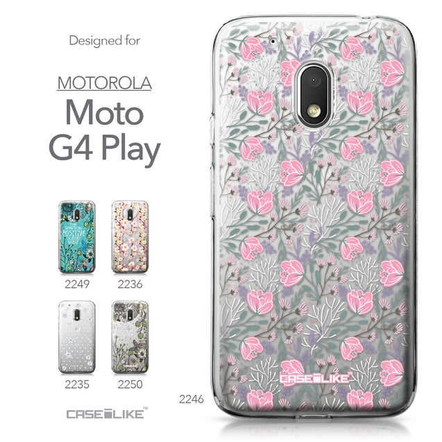 Motorola Moto G4 Play case Flowers Herbs 2246 Collection | CASEiLIKE.com