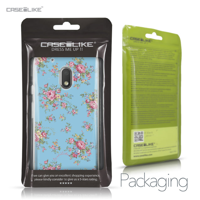 Motorola Moto G4 Play case Floral Rose Classic 2263 Retail Packaging | CASEiLIKE.com