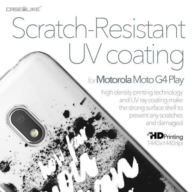 Motorola Moto G4 Play case Quote 2413 with UV-Coating Scratch-Resistant Case | CASEiLIKE.com
