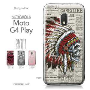 Motorola Moto G4 Play case Art of Skull 2522 Collection | CASEiLIKE.com