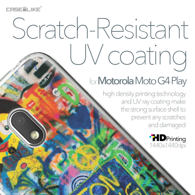Motorola Moto G4 Play case Graffiti 2723 with UV-Coating Scratch-Resistant Case | CASEiLIKE.com