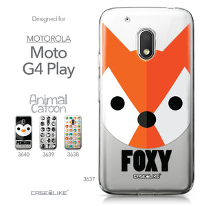 Motorola Moto G4 Play case Animal Cartoon 3637 Collection | CASEiLIKE.com