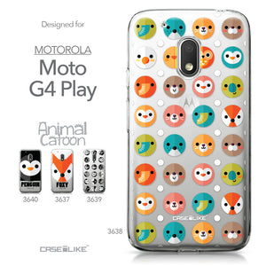 Motorola Moto G4 Play case Animal Cartoon 3638 Collection | CASEiLIKE.com
