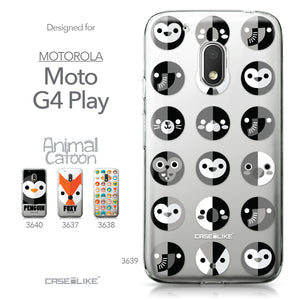 Motorola Moto G4 Play case Animal Cartoon 3639 Collection | CASEiLIKE.com