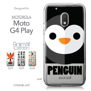 Motorola Moto G4 Play case Animal Cartoon 3640 Collection | CASEiLIKE.com