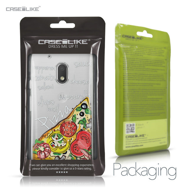 Motorola Moto G4 Play case Pizza 4822 Retail Packaging | CASEiLIKE.com