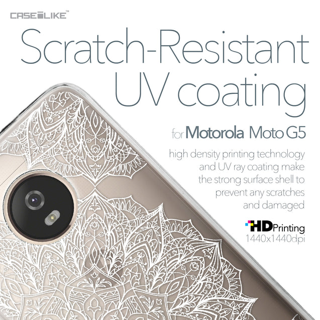 Motorola Moto G5 case Mandala Art 2091 with UV-Coating Scratch-Resistant Case | CASEiLIKE.com
