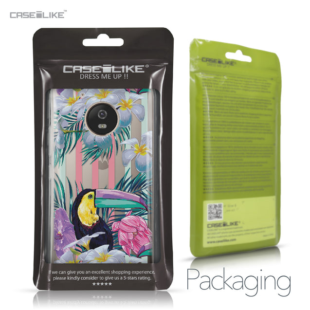 Motorola Moto G5 case Tropical Floral 2240 Retail Packaging | CASEiLIKE.com