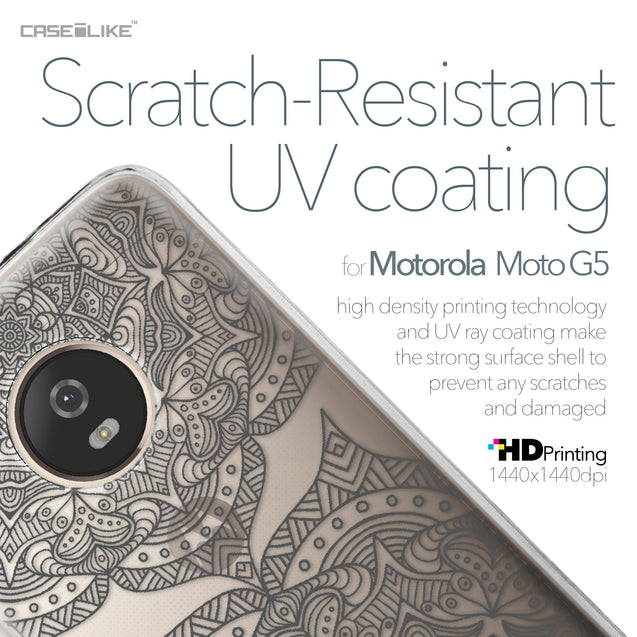 Motorola Moto G5 case Mandala Art 2304 with UV-Coating Scratch-Resistant Case | CASEiLIKE.com