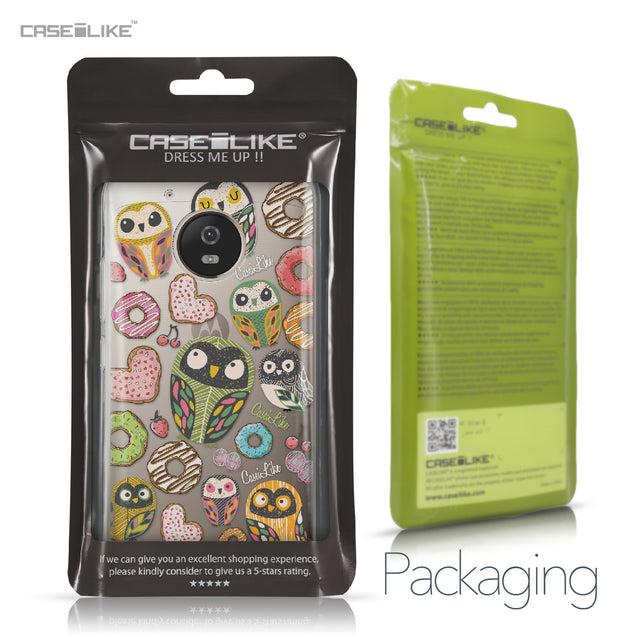 Motorola Moto G5 case Owl Graphic Design 3315 Retail Packaging | CASEiLIKE.com