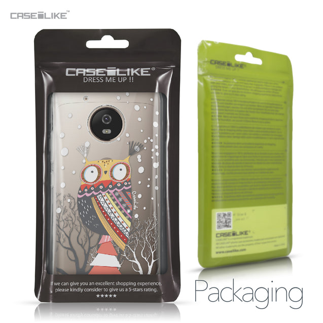 Motorola Moto G5 case Owl Graphic Design 3317 Retail Packaging | CASEiLIKE.com