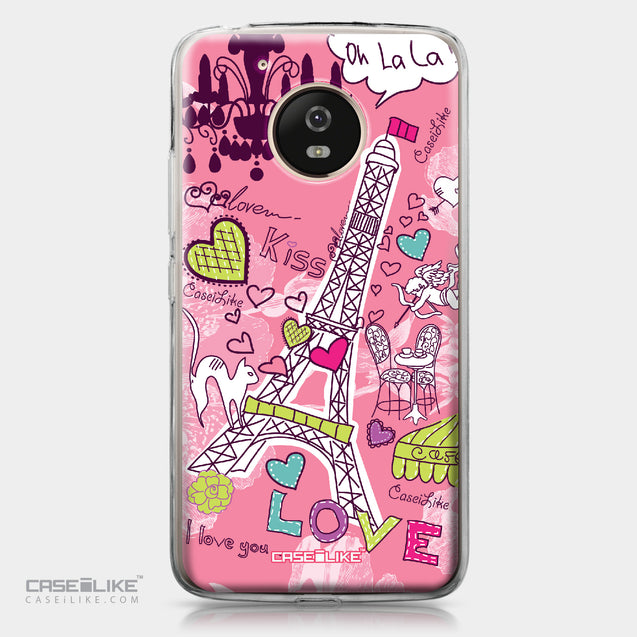 Motorola Moto G5 case Paris Holiday 3905 | CASEiLIKE.com