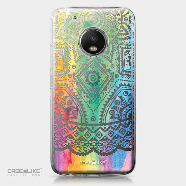 Motorola Moto G5 Plus case Indian Line Art 2064 | CASEiLIKE.com