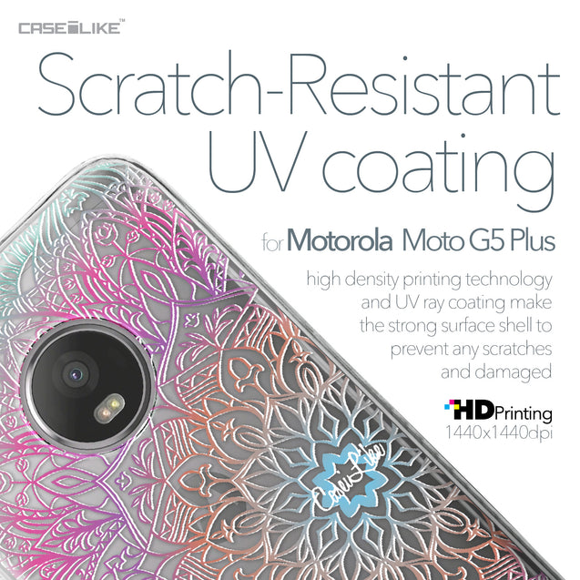 Motorola Moto G5 Plus case Mandala Art 2090 with UV-Coating Scratch-Resistant Case | CASEiLIKE.com