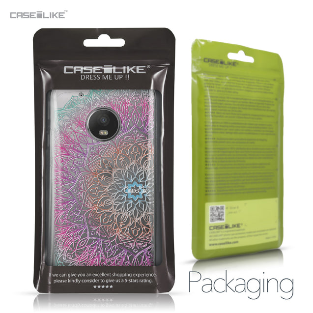 Motorola Moto G5 Plus case Mandala Art 2090 Retail Packaging | CASEiLIKE.com