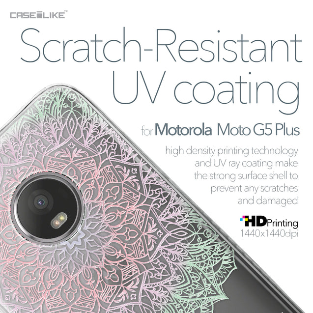 Motorola Moto G5 Plus case Mandala Art 2092 with UV-Coating Scratch-Resistant Case | CASEiLIKE.com