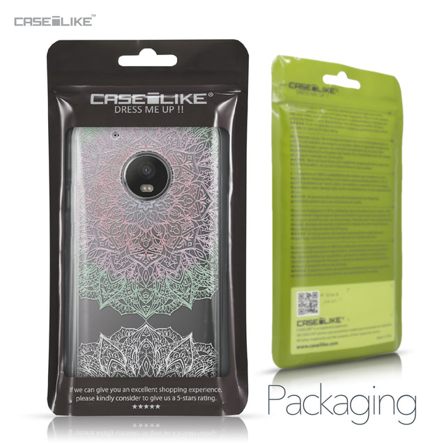 Motorola Moto G5 Plus case Mandala Art 2092 Retail Packaging | CASEiLIKE.com