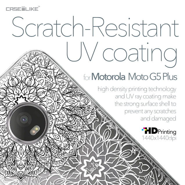 Motorola Moto G5 Plus case Mandala Art 2093 with UV-Coating Scratch-Resistant Case | CASEiLIKE.com