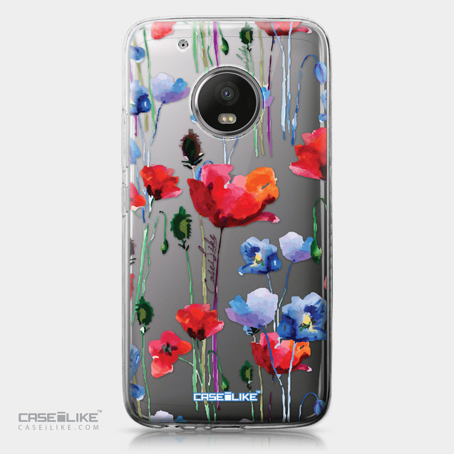 Motorola Moto G5 Plus case Watercolor Floral 2234 | CASEiLIKE.com