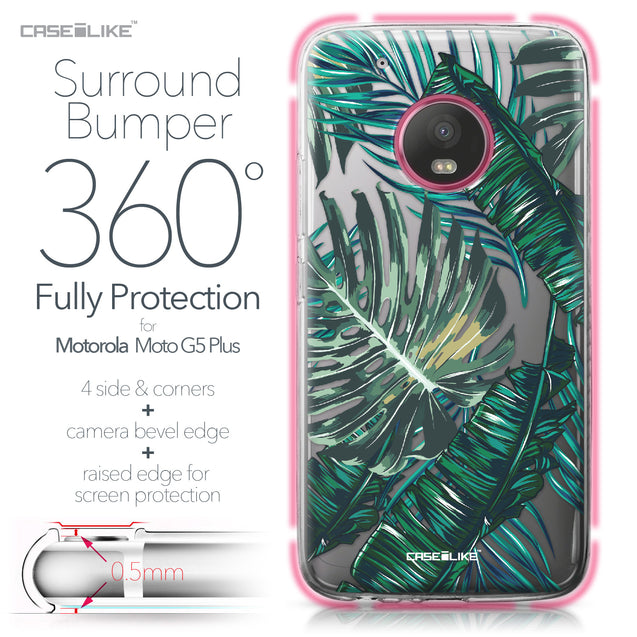 Motorola Moto G5 Plus case Tropical Palm Tree 2238 Bumper Case Protection | CASEiLIKE.com