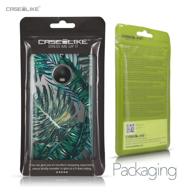 Motorola Moto G5 Plus case Tropical Palm Tree 2238 Retail Packaging | CASEiLIKE.com