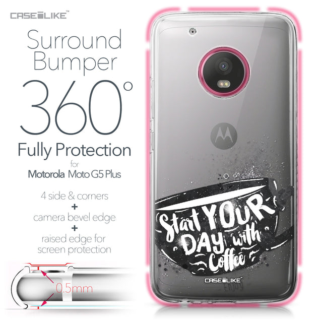 Motorola Moto G5 Plus case Quote 2402 Bumper Case Protection | CASEiLIKE.com
