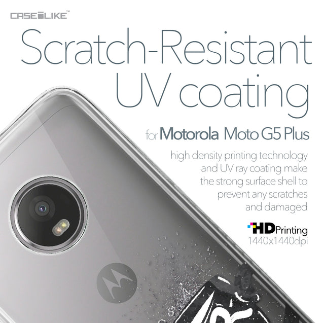 Motorola Moto G5 Plus case Quote 2402 with UV-Coating Scratch-Resistant Case | CASEiLIKE.com