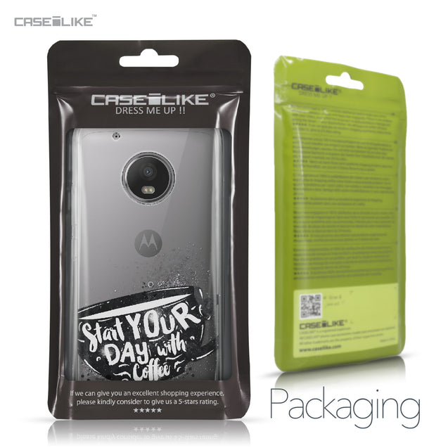 Motorola Moto G5 Plus case Quote 2402 Retail Packaging | CASEiLIKE.com
