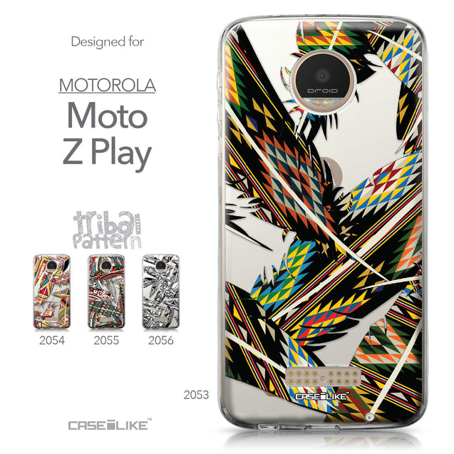 Motorola Moto Z Play case Indian Tribal Theme Pattern 2053 Collection | CASEiLIKE.com