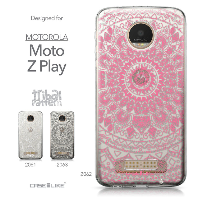 Motorola Moto Z Play case Indian Line Art 2062 Collection | CASEiLIKE.com