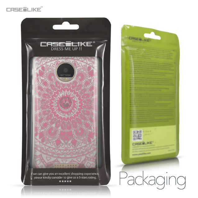Motorola Moto Z Play case Indian Line Art 2062 Retail Packaging | CASEiLIKE.com