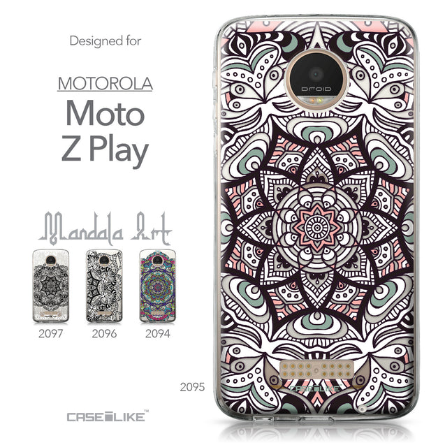 Motorola Moto Z Play case Mandala Art 2095 Collection | CASEiLIKE.com