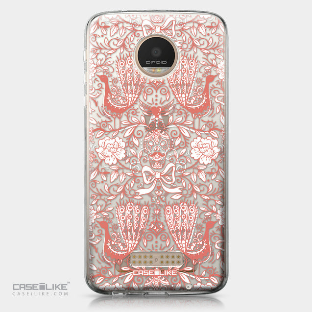 Motorola Moto Z Play case Roses Ornamental Skulls Peacocks 2237 | CASEiLIKE.com