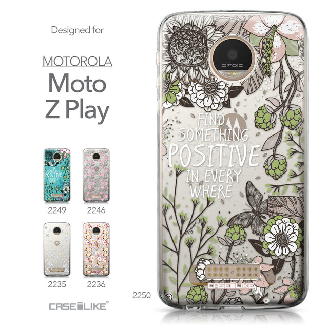 Motorola Moto Z Play case Blooming Flowers 2250 Collection | CASEiLIKE.com